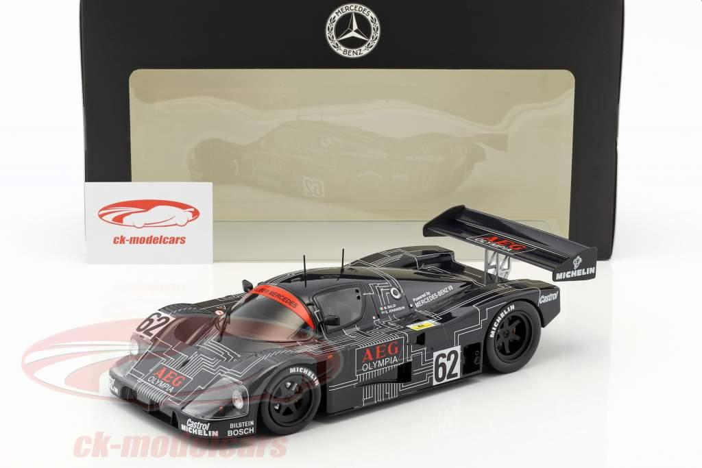 Sauber-Mercedes C9 #62 gagnant 1000km Spa 1988 Baldi, Johansson 1:18 Norev