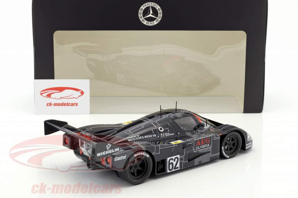 Sauber-Mercedes C9 #62 vincitore 1000km Spa 1988 Baldi, Johansson 1:18 Norev