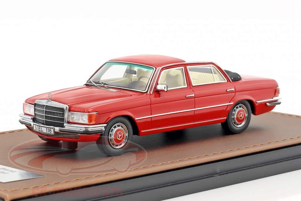 Mercedes-Benz 208 SEL W116 Landaulet année de construction 1973-1979 rouge 1:43 GLM