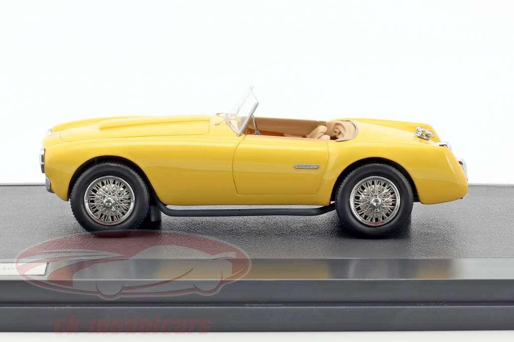 Siata 208S Motto Spider year 1953 yellow 1:43 Matrix