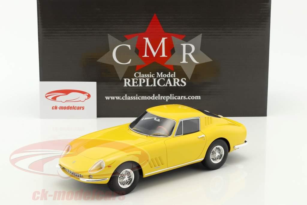 Ferrari 275 GTB gele 1:18 CMR