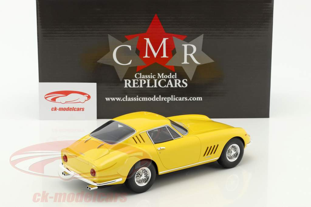 Ferrari 275 GTB amarilla 1:18 CMR