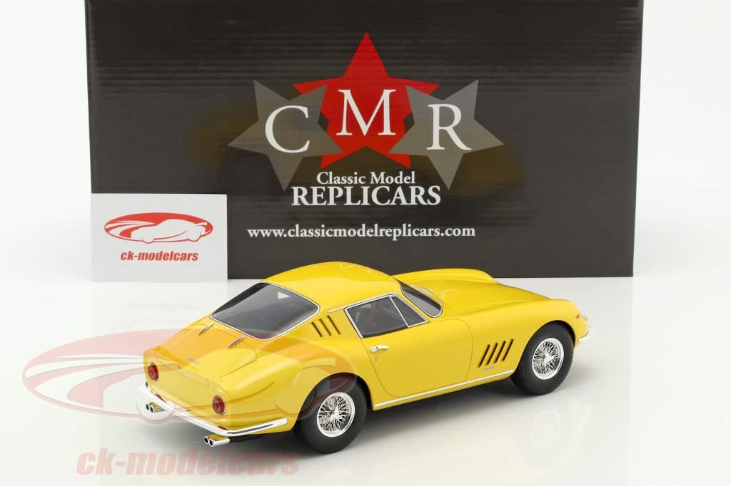 Ferrari 275 GTB yellow 1:18 CMR