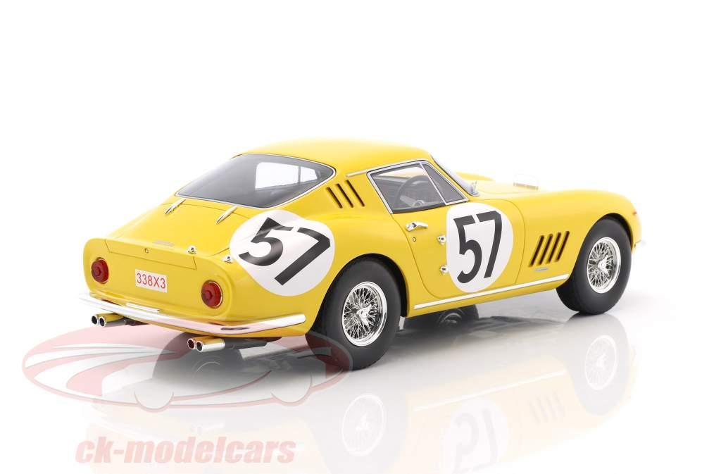 Ferrari 275 GTB #57 10 24h LeMans 1966 Noblet, Dubois 1:18 CMR
