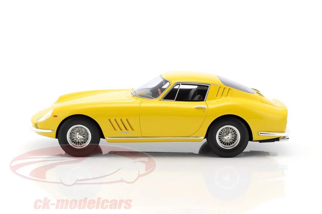Ferrari 275 GTB amarelo 1:18 CMR