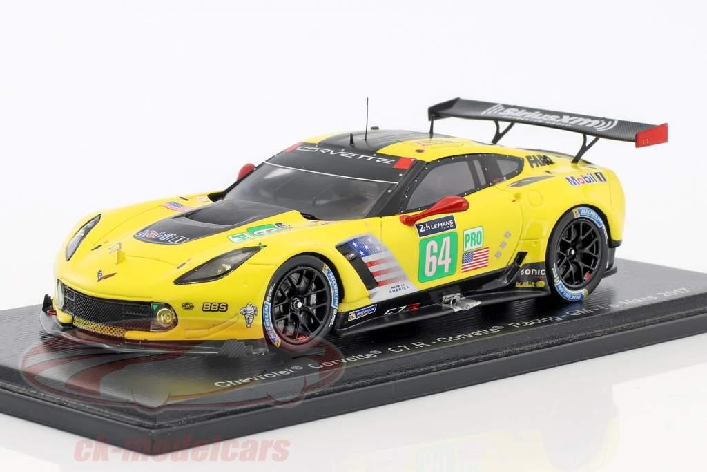 Chevrolet Corvette C7.R #64 24h LeMans 2017 Gavin, Milner, Fässler 1:43 Spark