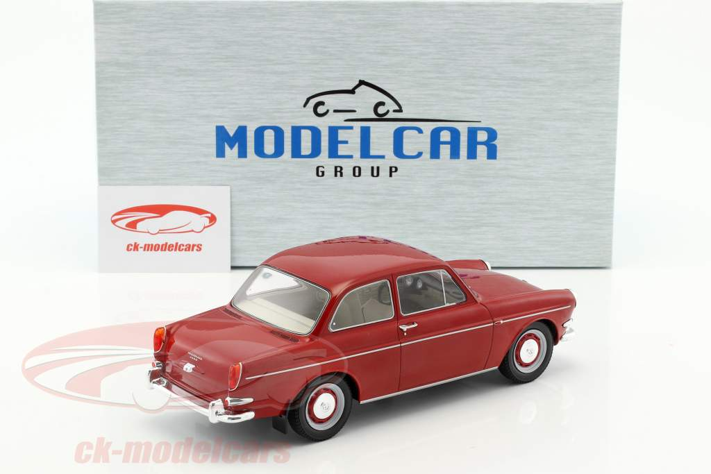 Volkswagen VW 1500 S (Typ 3) Baujahr 1963 rot 1:18 Model Car Group