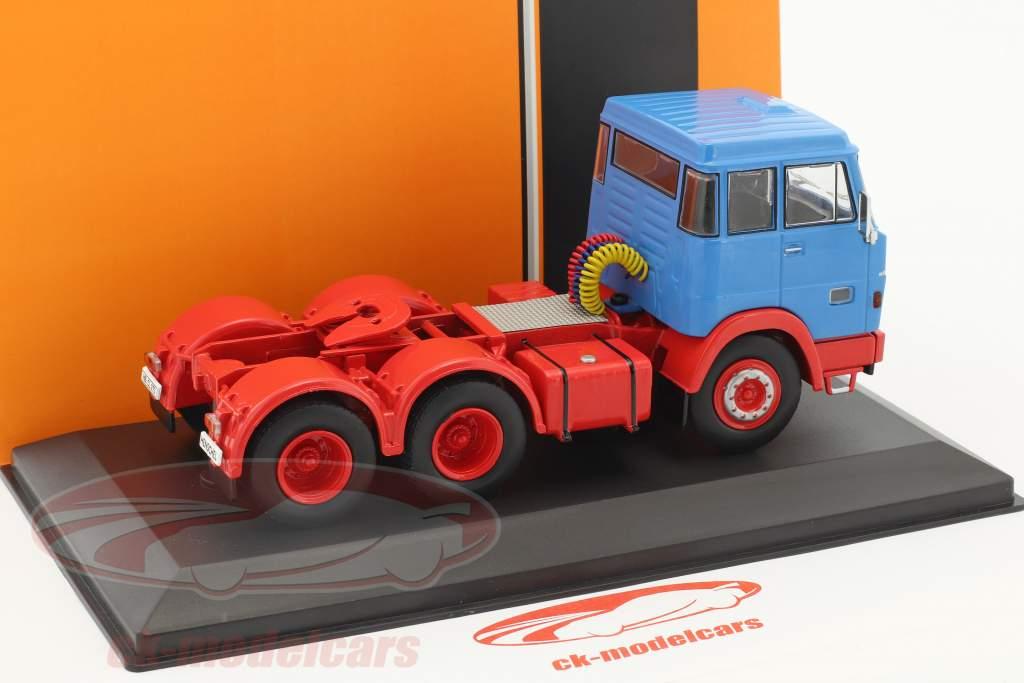 Henschel HS 19 TS bleu / rouge 1:43 Ixo