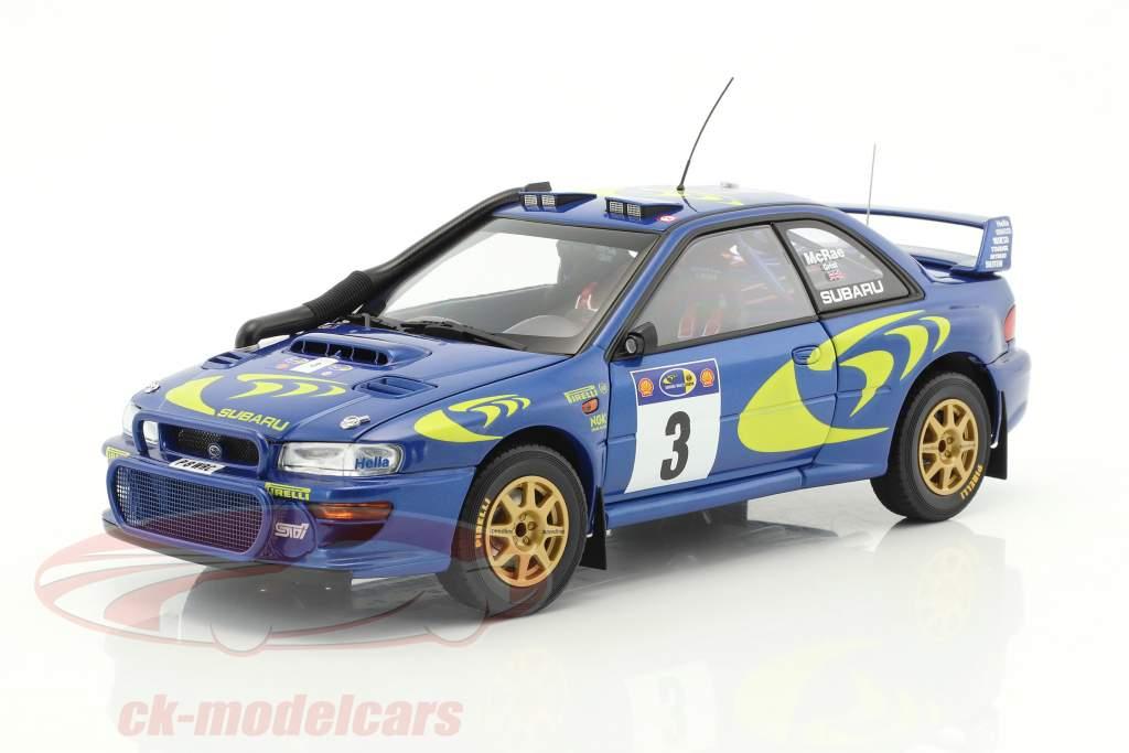 Subaru Impreza S3 #3 vencedor Rallye Safari 1997 McRae, Grist 1:18 AUTOart