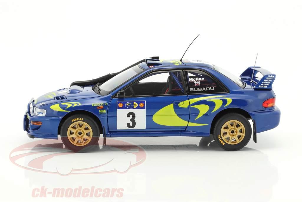 Subaru Impreza S3 #3 Vinder Rallye Safari 1997 McRae, Grist 1:18 AUTOart