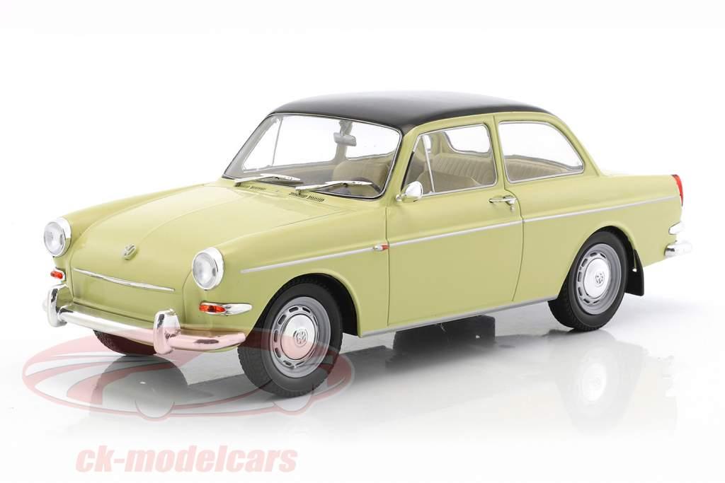 Volkswagen VW 1500 S (type 3) année de construction 1963 beige / noir 1:18 Model Car Group