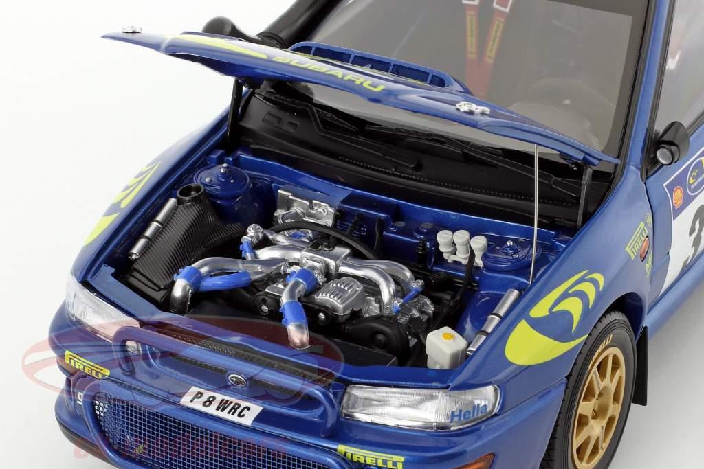 Subaru Impreza S3 #3 gagnant Rallye Safari 1997 McRae, Grist 1:18 AUTOart