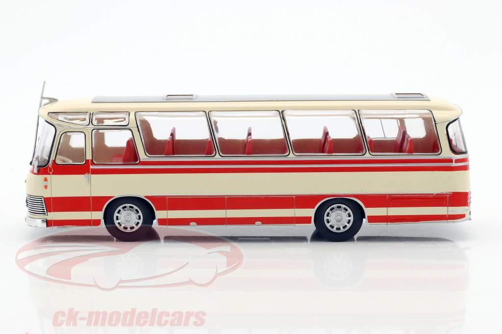 Neoplan NH 9L autobus anno di costruzione 1964 beige / rosso 1:43 Ixo