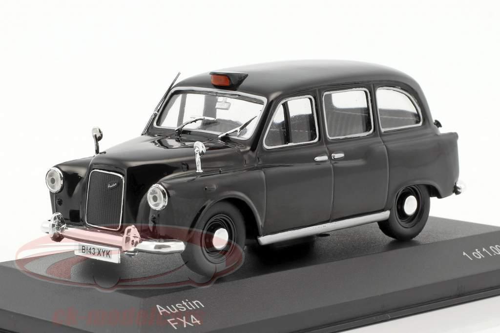 Austin FX4 RHD Londra taxi nero 1:43 WhiteBox