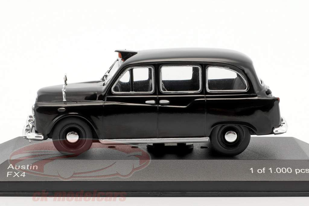 Austin FX4 RHD London taxi black 1:43 WhiteBox