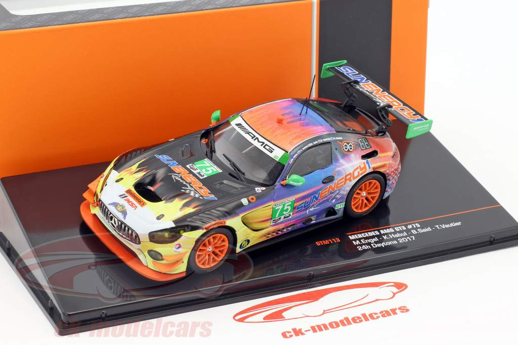 Mercedes-Benz AMG GT3 #75 24h Daytona 2017 SunEnergy1 Racing 1:43 Ixo