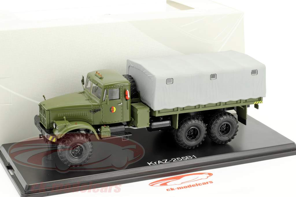 KrAZ-255B1 NVA Military Vehicle olive 1:43 PremiumClassiXXs