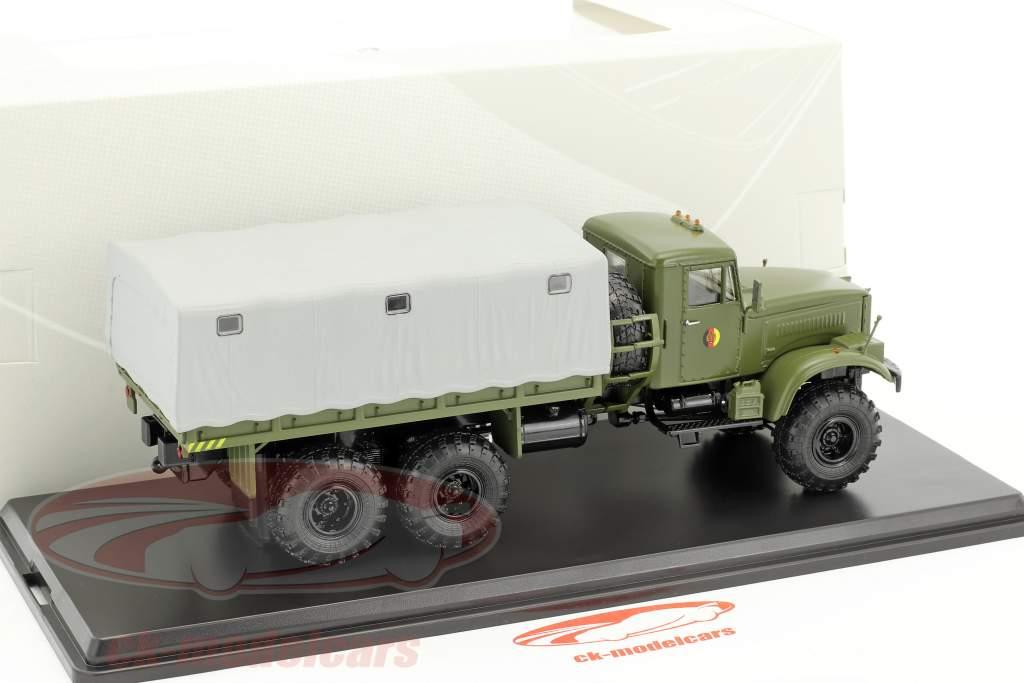 KrAZ-255B1 NVA Militärfahrzeug oliv 1:43 PremiumClassiXXs