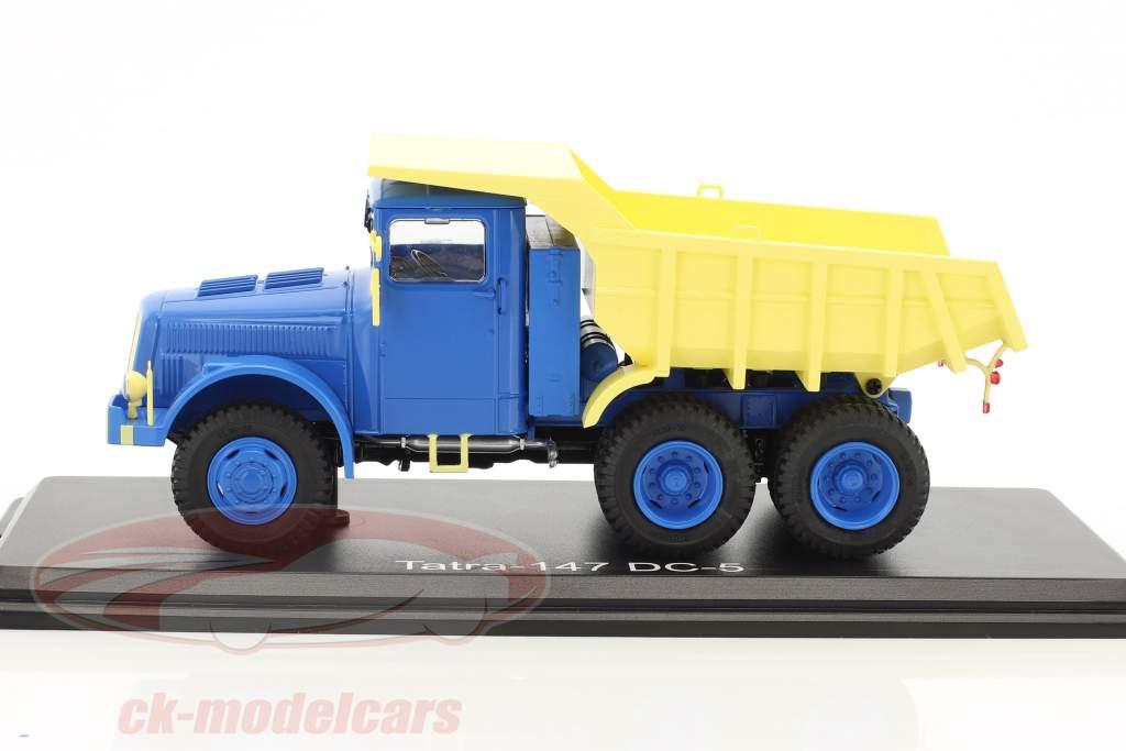 Tatra-147 DC-5 blau / creme gelb 1:43 PremiumClassiXXs