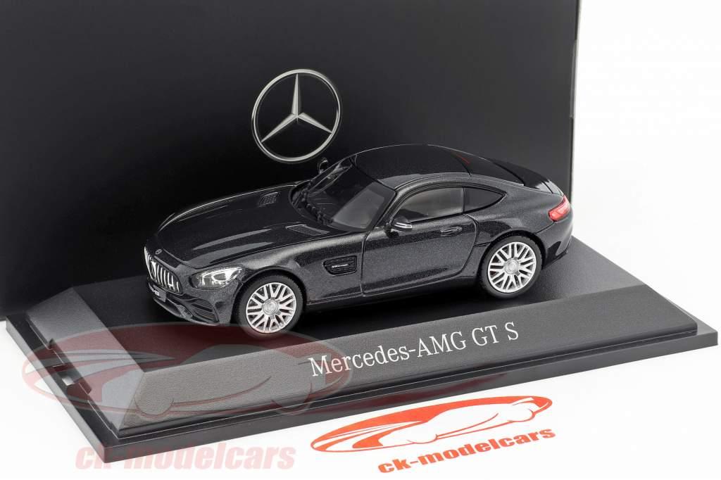 Mercedes-Benz AMG GT S coupe magnetita preto metálico 1:43 Norev