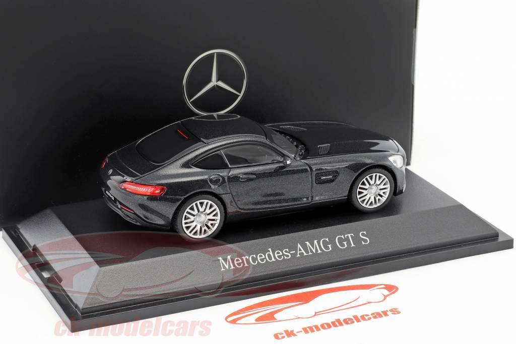 Mercedes-Benz AMG GT S coupe magnetit sort metallisk 1:43 Norev