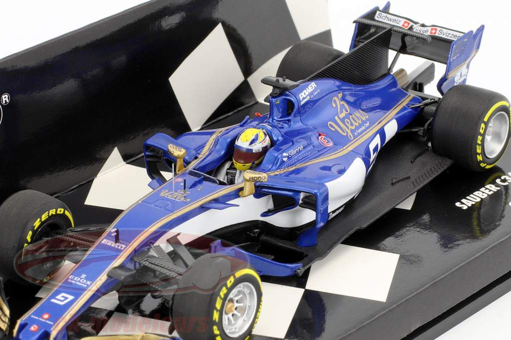 Marcus Ericsson Sauber C36 #9 Chinese GP formula 1 2017 1:43 Minichamps