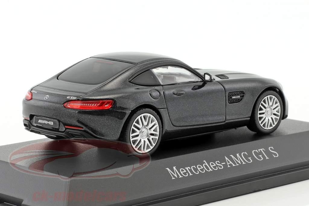 Mercedes-Benz AMG GT S coupe magnetite black metallic 1:43 Norev