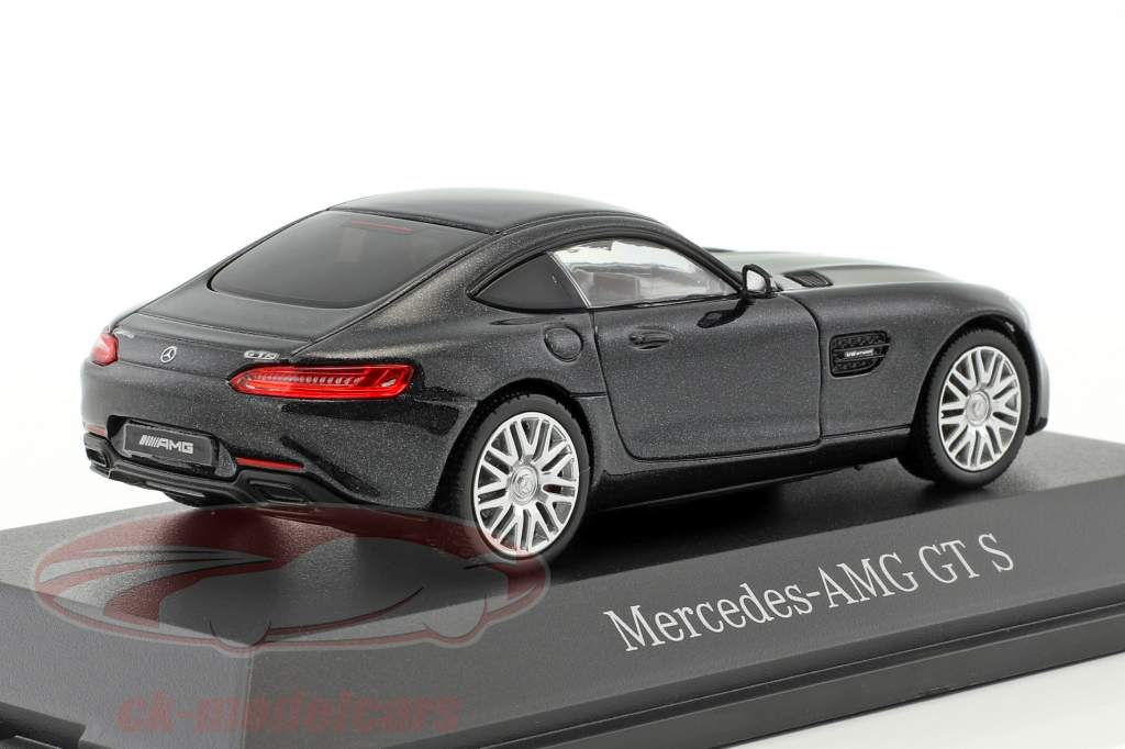 Mercedes-Benz AMG GT S coupe magnetiet zwart metalen 1:43 Norev