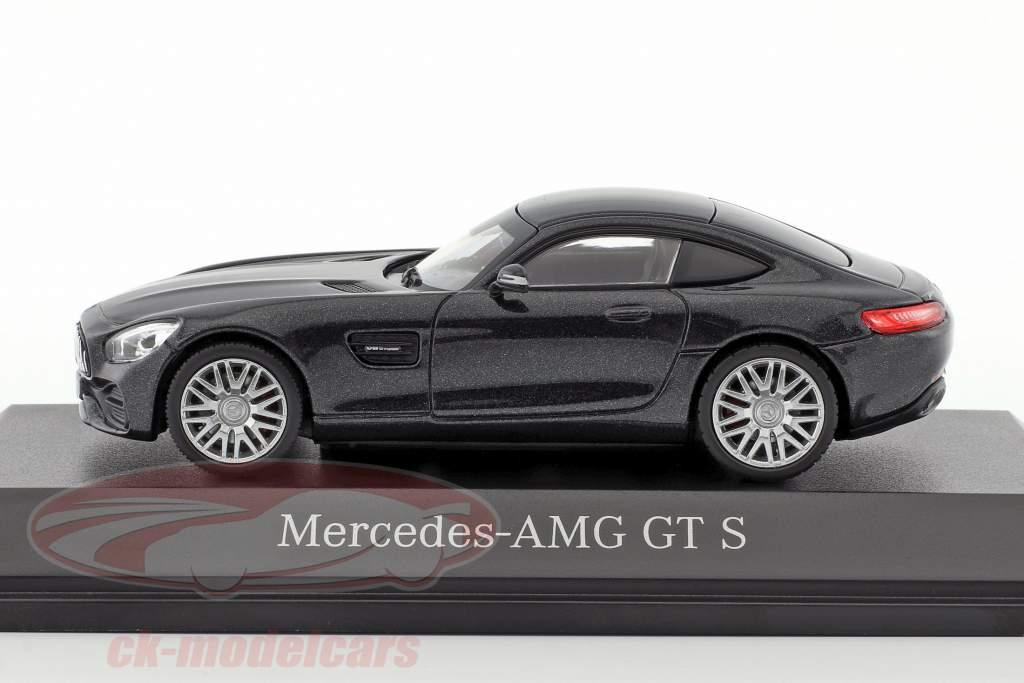 Mercedes-Benz AMG GT S coupe magnetite nero metallico 1:43 Norev