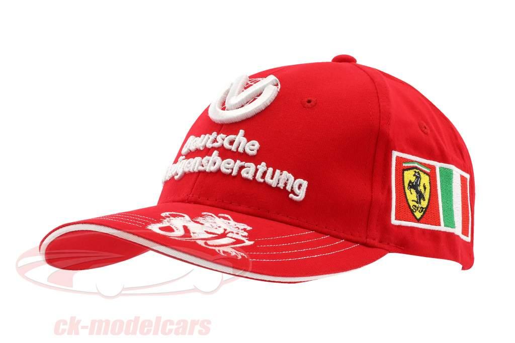 Michael Schumacher Ferrari Conductor Tapa Dragón Fórmula 1 2006