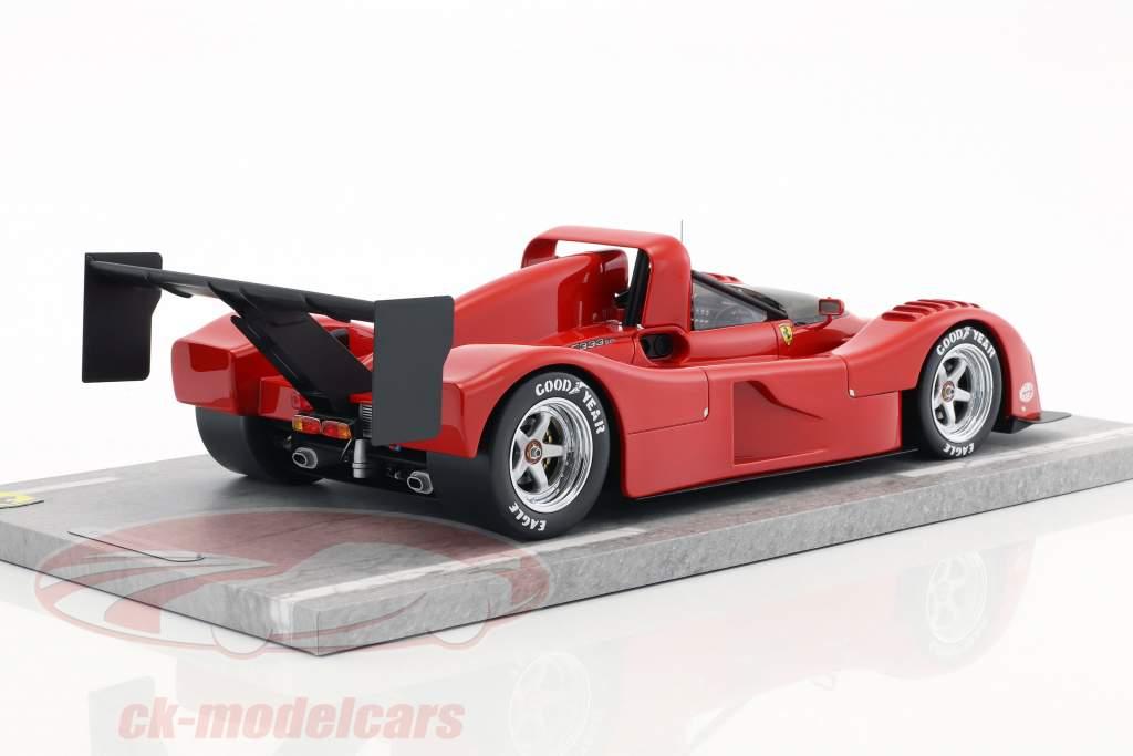 Ferrari 333 SP stampa versione 1994 rosso 1:18 BBR