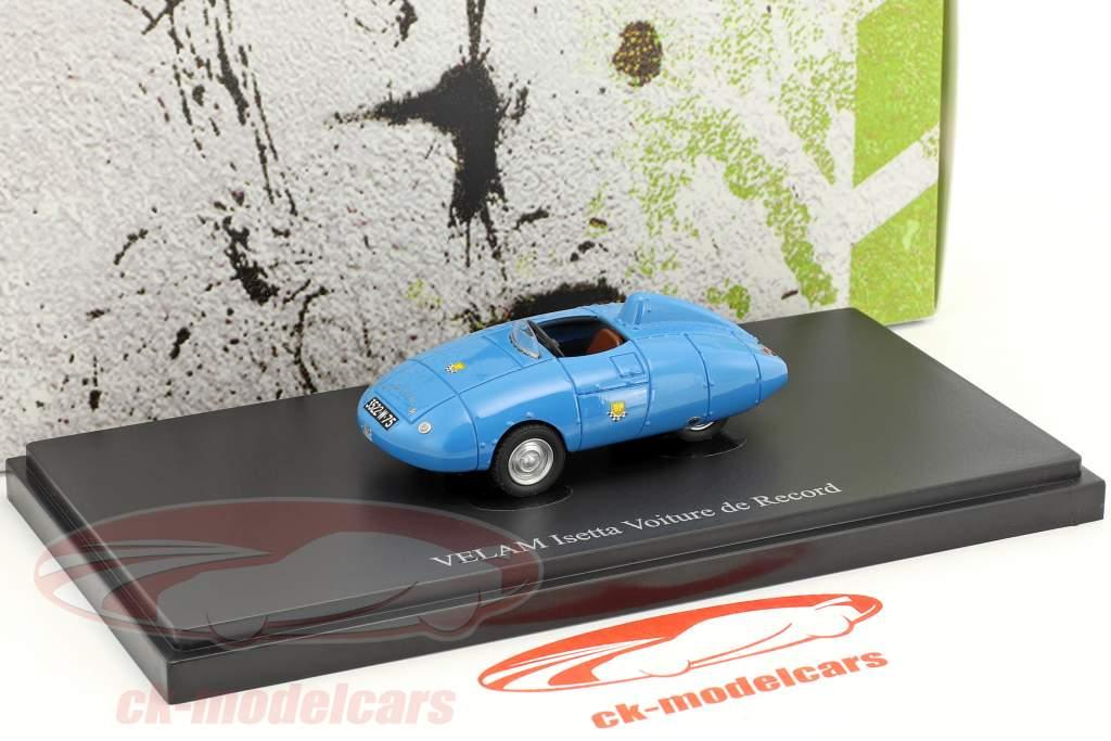 Velam Isetta Voiture de Record Baujahr 1957 blau 1:43 AutoCult