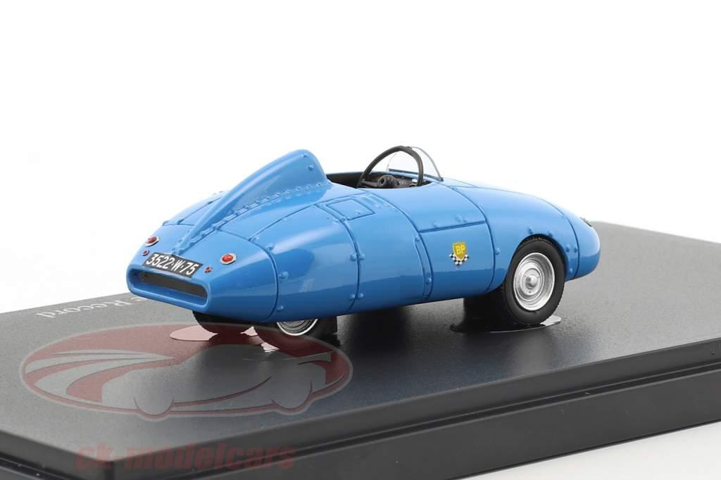 Velam Isetta Voiture de Record anno di costruzione 1957 blu 1:43 AutoCult