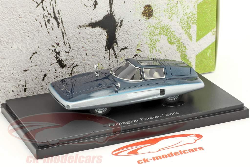 Covington Tiburon Shark anno di costruzione 1961 blu 1:43 AutoCult