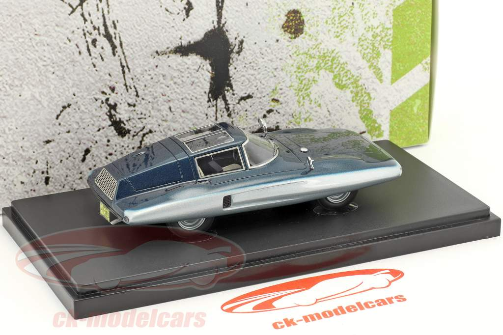Covington Tiburon Shark année de construction 1961 bleu 1:43 AutoCult