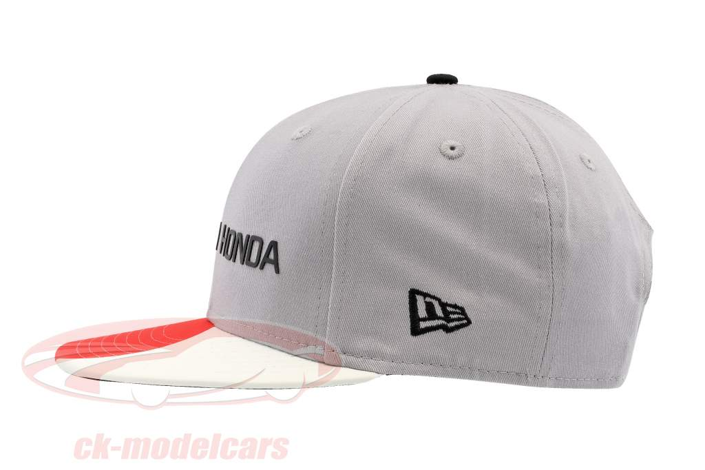 McLaren Honda formule 1 2017 Alonso & Vandoorne Special Edition Japon Cap gris S/M