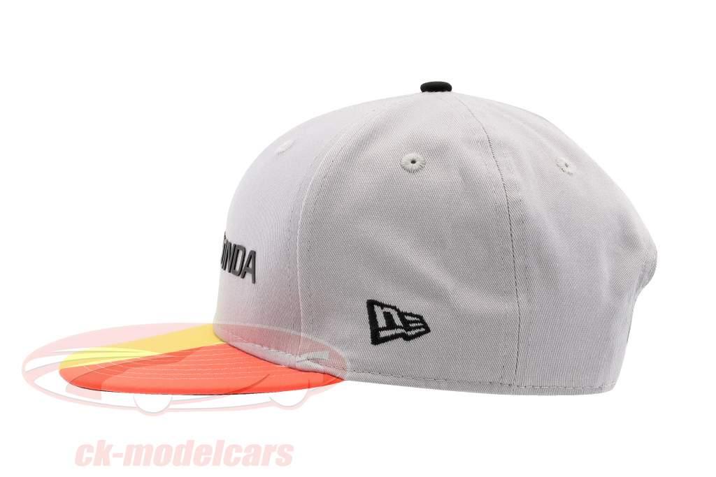 McLaren Honda Formel 1 2017 Alonso & Vandoorne Special Edition Belgien Cap grau S/M