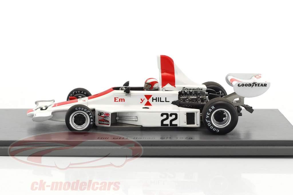 Rolf Stommelen Hill GH1 #22 Italy GP formula 1 1975 1:43 Spark