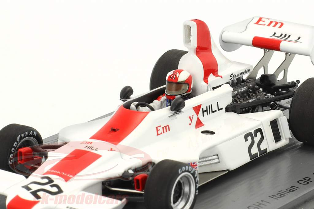 Rolf Stommelen Hill GH1 #22 Italie GP formule 1 1975 1:43 Spark