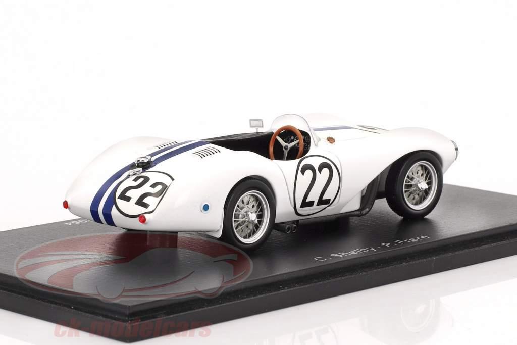 Aston Martin DB3 S #22 24h LeMans 1954 Shelby, Frere 1:43 Spark