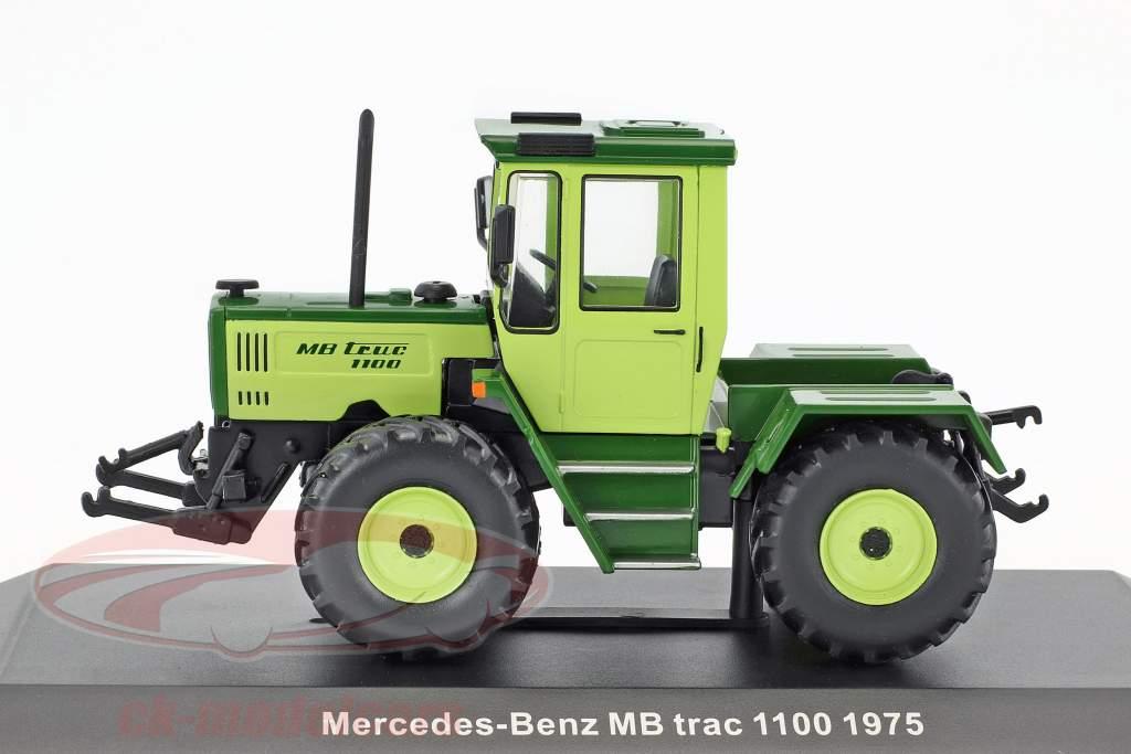 Mercedes-Benz MB Trac 1100 year 1975 lime / dark green 1:43 Hachette