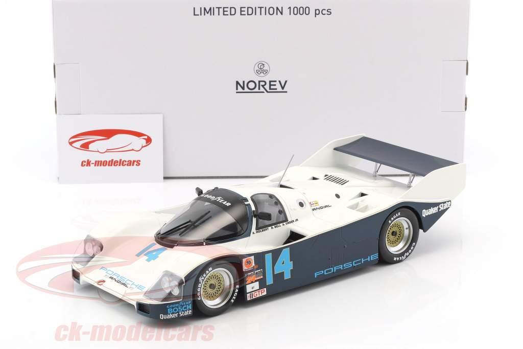 Porsche 962 C #14 vincitore 24h Daytona 1986 Holbert, Unser, Bell 1:18 Norev