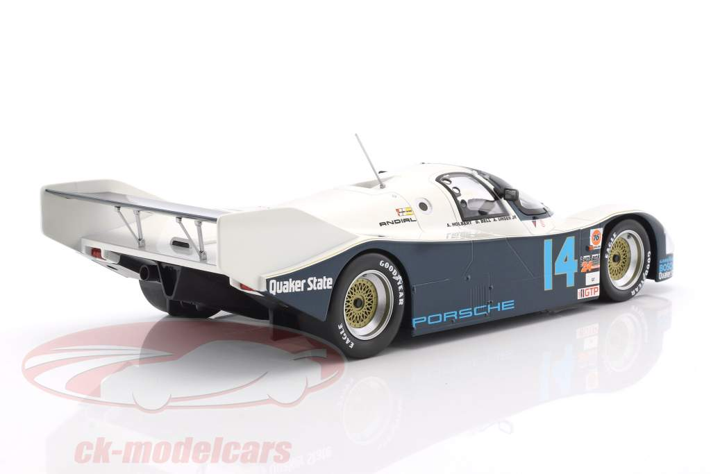 Porsche 962 C #14 vencedor 24h Daytona 1986 Holbert, Unser, Bell 1:18 Norev
