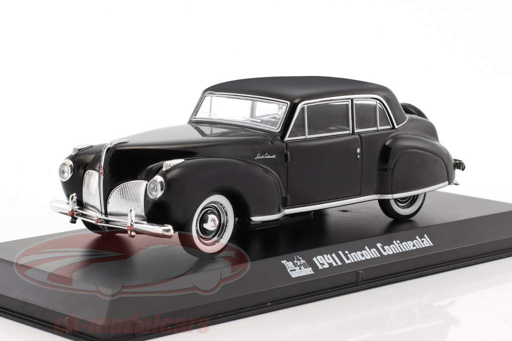 Lincoln Continental Film The Godfather 1972 schwarz 1:43 Greenlight