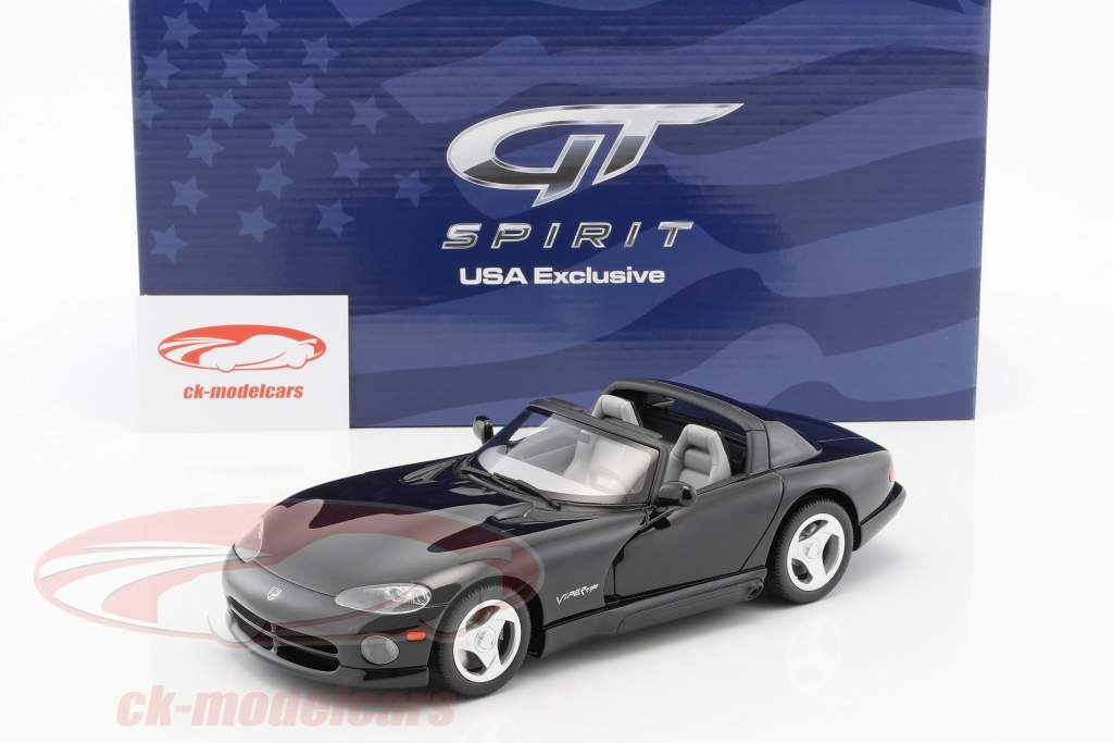 Dodge Viper RT/10 nero 1:18 GT-SPIRIT