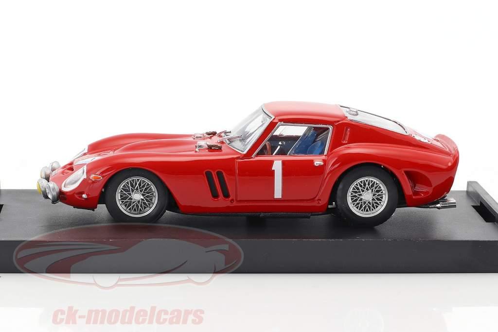 Ferrari 250 GTO #1 Rally Neige et Glace 1964 Guichet, Clement 1:43 Brumm