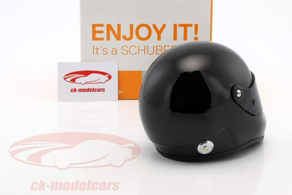 Schuberth SF1 Miniatur Replica helmet Plain Body Version black 1:2 Schuberth