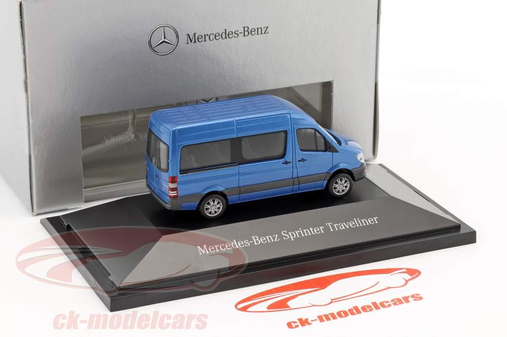 Mercedes-Benz Sprinter Kombi Sud les mers bleu métallique 1:87 Herpa