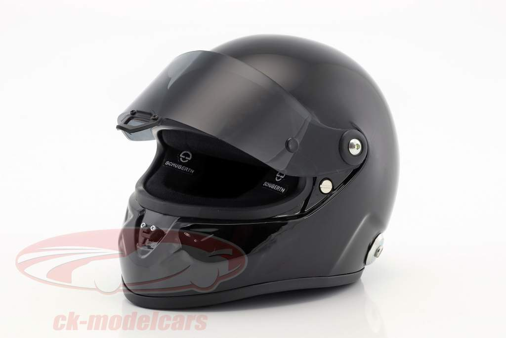 Schuberth SF1 Miniatur Replica Helm Plain Body Version schwarz 1:2 Schuberth
