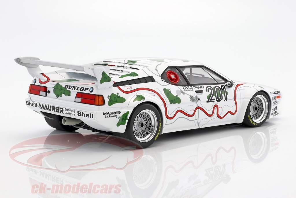 BMW M1 Gr.4 #201 3. 1000km Nürburgring 1980 Stuck / Piquet 1:12 Minichamps